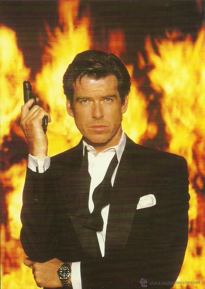JAMES BOND 007 - PIERCE BROSNAN *** ENVIO CERTIFICADO GRATIS*** (Cine - Fotos y Postales de Actores y Actrices)
