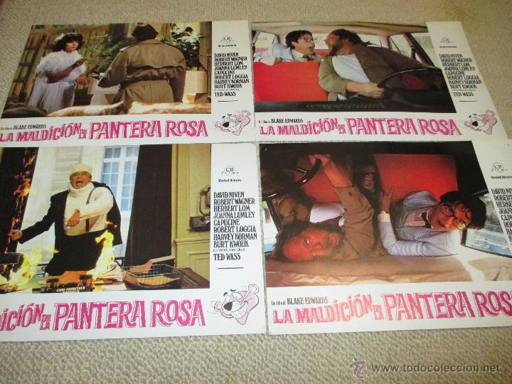 Cine: La maldición de la Pantera Rosa, Blake Edwards, David Niven, Robert Wagner 12 fotocromos lobby cards - Foto 2 - 46591271