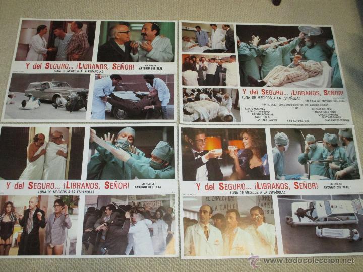 Cine: Y del seguro libranos señor, Antonio Banderas, Alfonso Cabeza, Atlético de Madrid 12 fotocromos - Foto 2 - 46592285