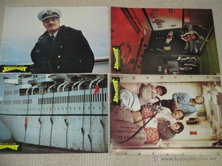 Cine: El enigma se llama Juggernaut, Richard Harris, Anthony Hopkins Omar Sharif 12 fotocromos lobby cards - Foto 2 - 46598218