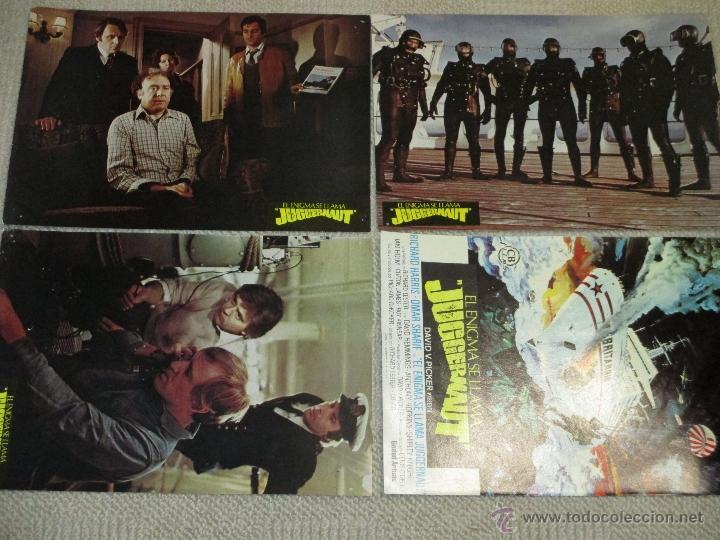 Cine: El enigma se llama Juggernaut, Richard Harris, Anthony Hopkins Omar Sharif 12 fotocromos lobby cards - Foto 3 - 46598218