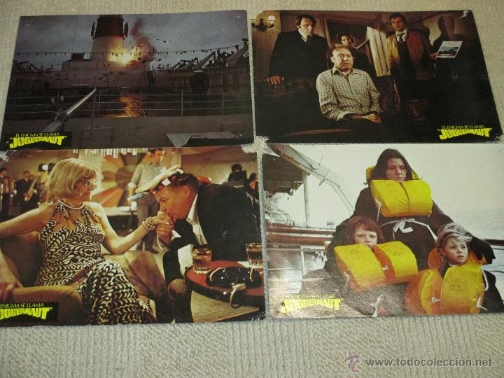 Cine: El enigma se llama Juggernaut, Richard Harris, Anthony Hopkins Omar Sharif 8 fotocromos lobby cards - Foto 2 - 46598243