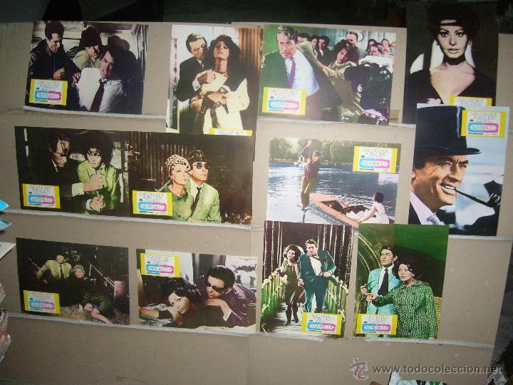 ARABESCO SOFIA LOREN GREGORY PECK JUEGO COMPLETO Q (Cine - Fotos, Fotocromos y Postales de Películas)