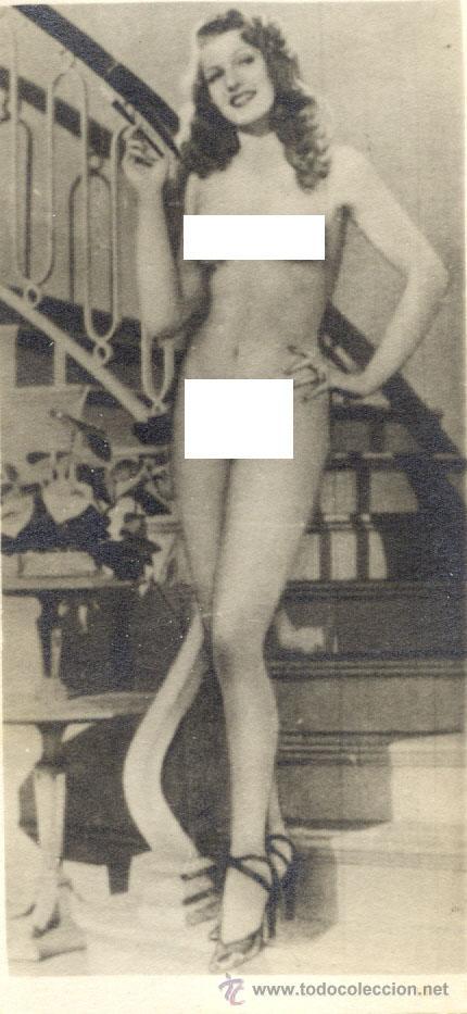 Rita hayworth. antigua foto. original de época. - Vendido