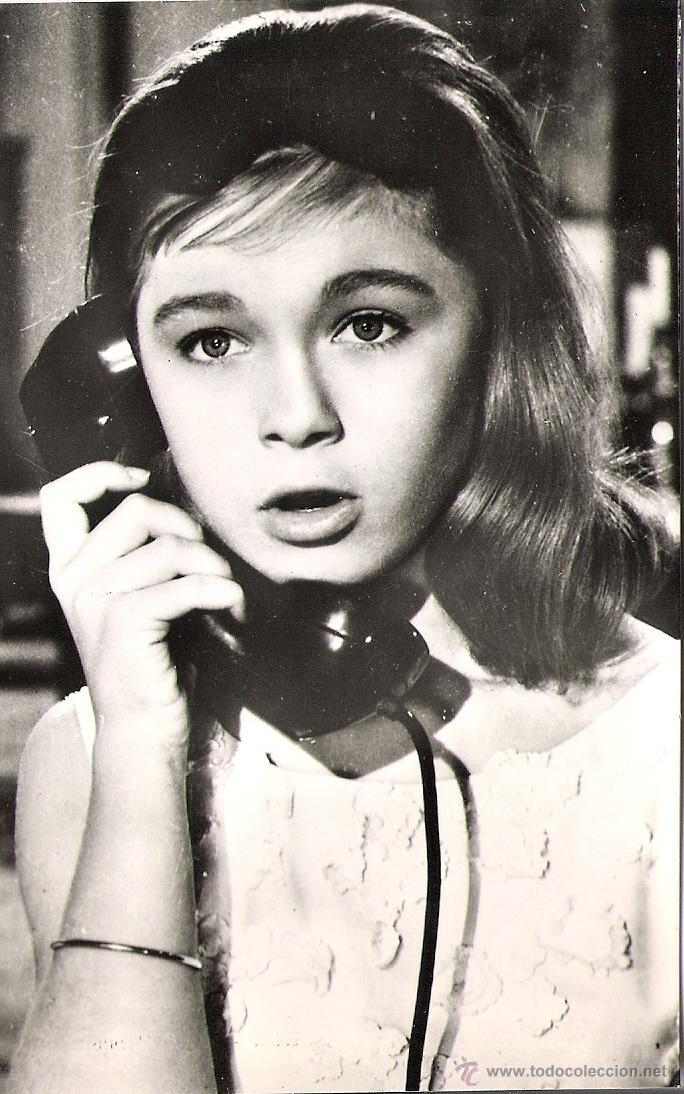 MARISOL POSTAL ORIGINAL BLANCO Y NEGRO DE LA EPOCA 1962-1963 (Cine - Fotos y Postales de Actores y Actrices)