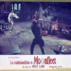 Cine: VL78 LOS CONTRABANDISTAS DE MOONFLEET FRITZ LANG STEWART GRANGER FOTOCROMO CARTON ORIGINAL ESTRENO. Lote 46894198