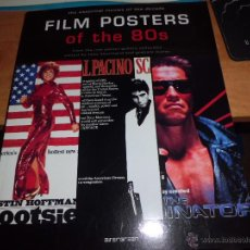 Cine: FILM POSTERS OF THE 80S EXCELENTE LIBRO DE CARTELES DE PELICULAS DE LOS 80S EN INGLES EXCELENTE ESTA. Lote 47127899