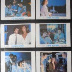 Cinema: (1087) LA NOCHE MAS HERMOSA,JOSE SACRISTAN,VICTORIA ABRIL,BIBI ANDERSEN,12 FOTOCROMOS,VER FOTOS. Lote 47157587
