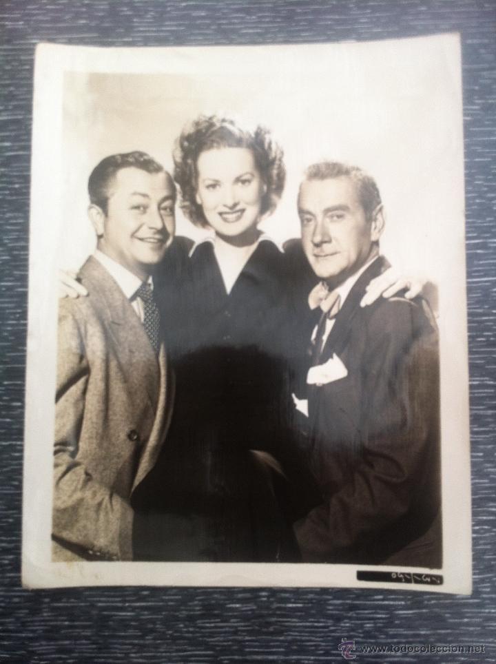 FOTO ORIGINAL AMERICANA - METRO GOLDWYN MAYER - 20X26 CINE AÑOS 40 50 ACTOR ACTRIZ HOLLYWOOD (Cine - Fotos y Postales de Actores y Actrices)