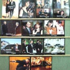 Cine: QP19 QUANTUM OF SOLACE JAMES BOND 007 DANIEL CRAIG SET COMPLETO DE 12 FOTOCROMOS ORIGINAL USA. Lote 47240499