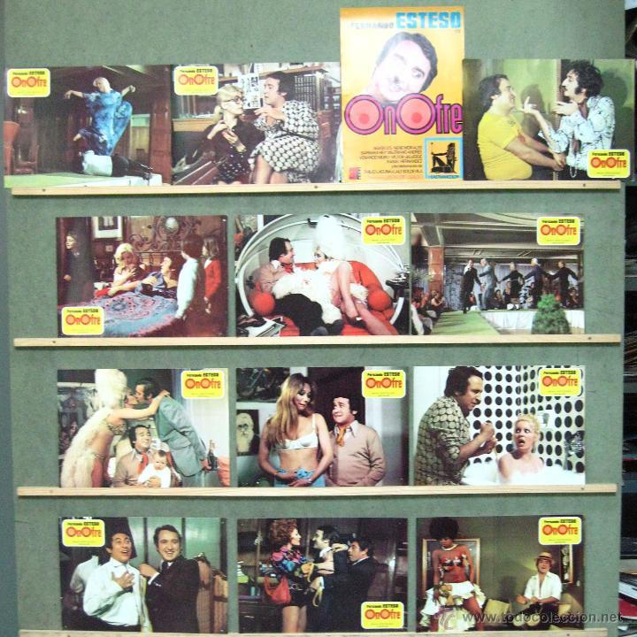 VQ64 ONOFRE FERNANDO ESTESO BARBARA REY AGATA LYS SET COMPLETO 12 FOTOCROMOS ORIGINAL ESTRENO (Cine - Fotos, Fotocromos y Postales de Películas)