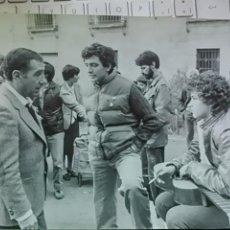 Cine: ALFREDO LANDA, CRISTINA MARCOS Y AGUSTIN GONZALEZ, FOTO ORIGINAL, LA PROXIMA ESTACION, 1986. Lote 48657560