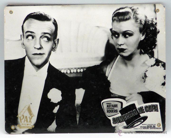Cartelera Sombrero De Copa 1935 Fred Astaire Y Sold Through Direct Sale 49010002