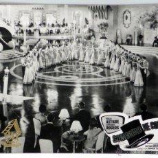 Cine: CARTELERA SOMBRERO DE COPA 1935 FRED ASTAIRE Y GINGER ROGERS DE MARK SANDRICH DE PAX FILMS. Lote 49010008