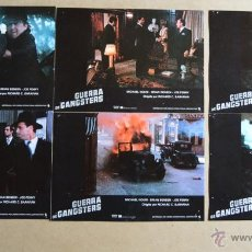 Cine: GUERRA DE GANSTERS LOTE 10 FOTOCROMOS ORIGINALES. Lote 49094032