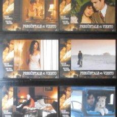 Cine: (1333) PREGUNTALE AL VIENTO,COLIN FARRELL,SALMA HAYEK,6 FOTOCROMOS,VER FOTOS. Lote 49109302