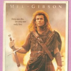 Cine: POSTAL CINE - PELICULA BRAVEHEART CON MEL GIBSON 1995. Lote 49148852