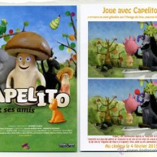 Cine: CAPELITO ET SES AMIS, DE RODOLFO PASTOR.. Lote 143004605