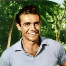 Cine: SEAN CONNERY POSTAL ORIGINAL A COLOR DE LA EPOCA. Lote 52813817