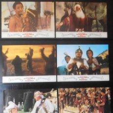 Cine: (1554) LA LOCA HISTORIA DEL MUNDO ,MEL BROOKS,12 FOTOCROMOS,VER FOTOS. Lote 49349447