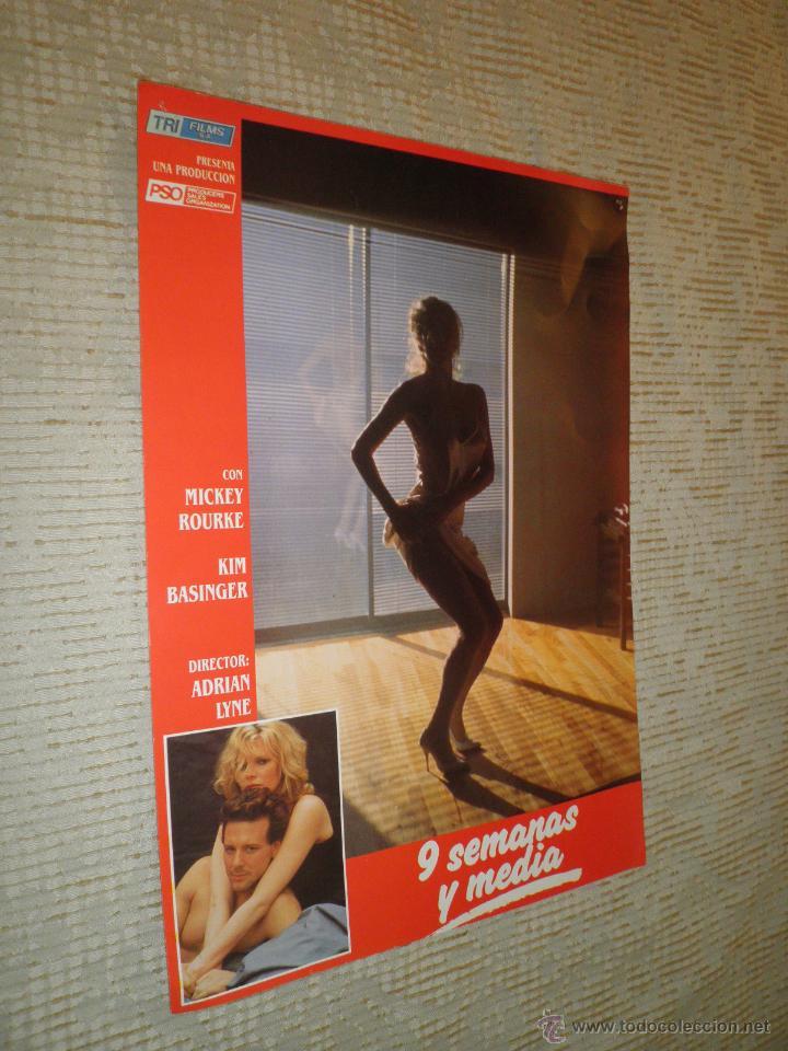 Cine: LOTE 10 FOTOCROMOS NUEVE SEMANAS Y MEDIA Kim Basinger Mickey Rourke CINE - Foto 2 - 49432919