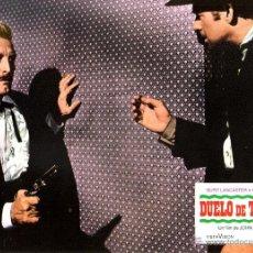 Cine: DUELO DE TITANES FOTOCROMO ORIGINAL DEL ESTRENO DE LA PELICULA LOBBY CARDS BURT LANCASTER. Lote 49443110