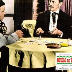 Cine: DUELO DE TITANES FOTOCROMO ORIGINAL DEL ESTRENO DE LA PELICULA LOBBY CARDS BURT LANCASTER. Lote 49443128