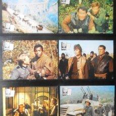 Cine: (1763) FUERZA 10 DE NAVARONE,ROBERT SHAW,HARRISON FORD,BARBARA BACH,12 FOTOCROMOS,VER FOTOS. Lote 49608835