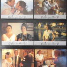 Cine: (1769) EL DIA QUE NACI YO ,ARTURO FERNANDEZ,ISABEL PANTOJA,12 FOTOCROMOS,VER FOTOS. Lote 49608889