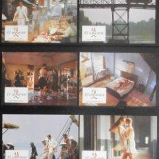 Cine: (1787) EL AMANTE ,JEAN-JACQUES ANNAUD,12 FOTOCROMOS,VER FOTOS. Lote 49732465