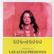 Cine: LAS ALTAS PRESIONES DE ANGEL SANTOS.. Lote 118423546
