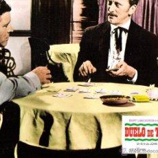 Cine: DUELO DE TITANES FOTOCROMO ORIGINAL DEL ESTRENO DE LA PELICULA LOBBY CARDS BURT LANCASTER. Lote 50223319
