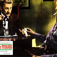 Cine: DUELO DE TITANES FOTOCROMO ORIGINAL DEL ESTRENO DE LA PELICULA LOBBY CARDS BURT LANCASTER. Lote 50295428