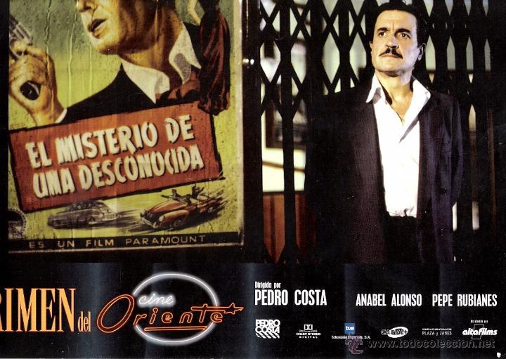 El Crimen Del Cine Oriente Fotocromo Original D Vendido En Venta