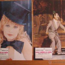 Cine: ESA RUBIA ES MIA - LOTE DE 9 FOTOCROMOS, LOBBY CARDS.. Lote 50441465