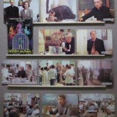 Cine: ARRIBA HAZAÑA! F. FERNAN-GOMEZ, H. ALTERIO, JOSE SACRISTAN, . 12 FOTOCROMOS CARTON. COMPLETO. Lote 50508391