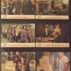 Cine: (1816) LOS LOCOS AÑOS DE CHICAGO,BEAU BRIDGES,BRIAN KEITH,12 FOTOCROMOS,VER FOTOS. Lote 50557458