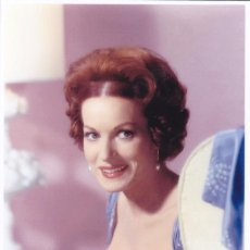 Cine: MAUREEN O' HARA - FILM STAR PIN UP - PUBLISHER SWIFTSURE POSTCARDS 2000. Lote 199750182