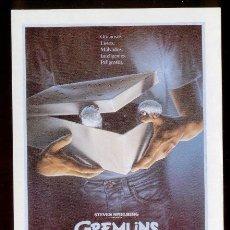 Cine: POSTAL PELICULA * LOS GREMLINS * 1984. DIRECTOR: STEVEN SPIELBERG. Lote 50867525