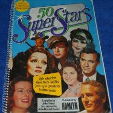 Cine: 50 SUPER STARS - HAMLYN (1974). Lote 50988338