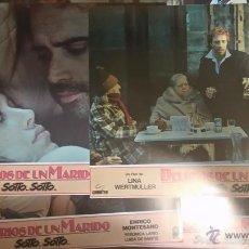 Cine: 12 FOTOCROMOS O FOTOGRAMAS. DELIRIOS DE UN MARIDO. ORIGINALES DEL ESTRENO. BUEN ESTADO. Lote 51003672
