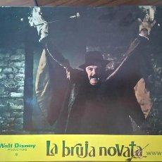 Cine: FOTOCROMO DE LA BRUJA NOVATA. WALT DISNEY. Lote 51005986