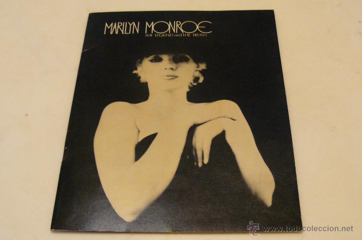 MARILYN MONROE THE LEGEND AND THE TRUTH ALSKOG INC.LOS ANGELES 1973 RARO FOTO-LIBRO GEORGE BARRIS (Cine - Fotos y Postales de Actores y Actrices)