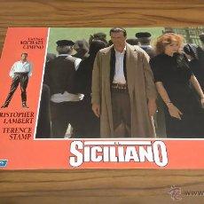 Cine: FOTOCROMO. EL SICILIANO. MICHAEL CIMINO. CHRISTOPHER LAMBERT, TERENCE STAMP. . Lote 51052991