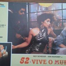 Cine: FOTOCROMO O FOTOGRAMA DE 52 VIVO O MUERE. PERFECTO ESTADO.. Lote 51085270