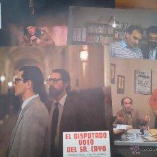 Cine: 4 FOTOCROMOS O FOTOGRAMAS DE EL DISPUTADO VOTO DEL SR. CAYO.. Lote 51085301
