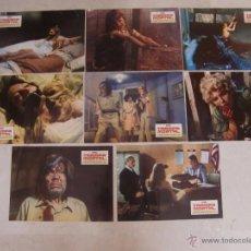 Cine: TRAMPA MORTAL- NEVILLE BRAND - JUEGO COMPLETO 8 FOTOCROMOS ORIGINAL ESTRENO. Lote 51126319