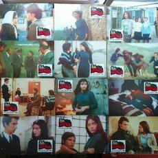 Cine: SET COMPLETO 12 FOTOCROMOS ORIGINALES- SOLA FRENTE A LA VIOLENCIA(1970)( ORNELLA MUTI)+GUÍA TRÍPTICO. Lote 51177870