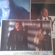 Cine: LOS INMORTALES II. 3 FOTOCROMOS O FOTOGRAMAS. ORIGINALES. Lote 51196845