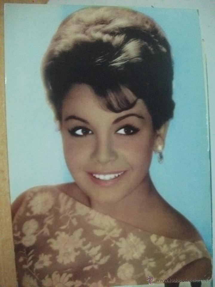 ANNETTE VADIM ANTIGUA POSTAL AÑO 1964 (Cine - Fotos y Postales de Actores y Actrices)